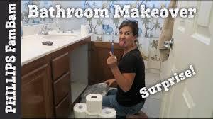 extreme surprise bathroom makeover kids bathroom makeover