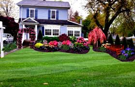 flower beds in front of house garden ideas