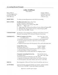 Example Of Resume Objectives by Cover Letter Resume Objective Examples For Accounting Accounting