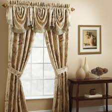 decorating unique brown jcpenny curtains with cozy pergo flooring