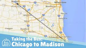 Chicago Ord Terminal Map by Taking The Bus From Chicago To Madison Youtube