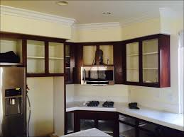 Crown Moldings For Kitchen Cabinets Kitchen Crown Molding Brackets Molding Above Cabinets Cabinet