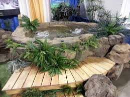 Small Rock Garden Pictures by Custom Rock Tubs Spas Universal Rocks