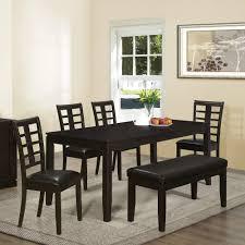 decor elegant dining table bench for inspiring bedroom furniture