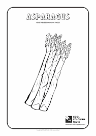 asparagus coloring page cool coloring pages