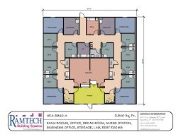 Floor Planners by Modular Medical Building Floor Plans Healthcare Clinics U0026 Offices