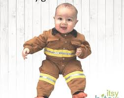 Halloween Costumes Firefighter Baby Firefighter Etsy