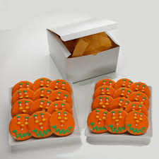 halloween cookie gift box