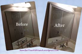 white framed mirror 36 x 48 vanity decoration
