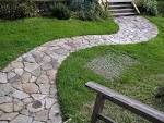 Natural Garden Ideas With Curvy Pathway #1641 | Home Decoration