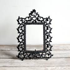 Home Interior Picture Frames by Decor Cheap Black Metal Picture Frames And Rustic Wood Table For