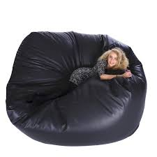 faux leather monster bean bag