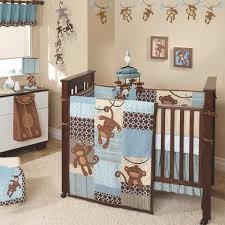 kinderzimmer junge baby giggles 5 piece baby boy crib bedding set by lambs u0026 ivy with free