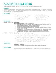 Examples Of Summaries On Resumes by Best Receptionist Resume Example Livecareer