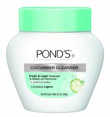 ponds deep cleanser and makeup remover with cucumber extract