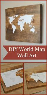 Wall Art Ideas For Bathroom by Diy Wall Art For Bathroom Diy World Map Wall Diy Wall Art For