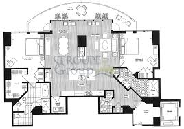 Penthouse Floor Plans Escala Floorplans