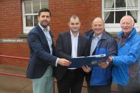 Report proposes Thornbury Hospital NHS rehab bed expansion  From     Cllr  Toby Savage with Luke Hall MP  South Glos Cllr Matthew Riddle and Geoff
