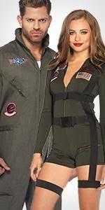 Maverick Goose Halloween Costumes Amazon Gun Men U0027s Flight Suit Costume Clothing