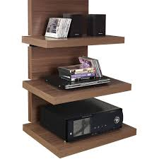 wall mounted component shelves ameriwood home elevation altramount tv stand for tvs up to 60