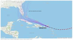 Caribbean Sea On Map by Communicating Uncertainty When Lives Are On The Line