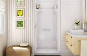 kds 3636 alcove shower aker by maax