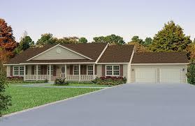 Custom Ranch Floor Plans Custom Built Homes In Wayne Ne Homestead Plus Front Decks Ranch