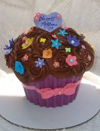 Chocolate Accents by Giant Mothers Day Cupcake Cakecentral Com
