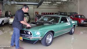 1969 Mustang Black Jade 69 Ford Mustang Mach 1 For Sale With Test Drive Driving Sounds
