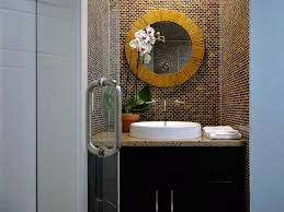 elegant round bathroom mirror for backsplash bathroom nytexas