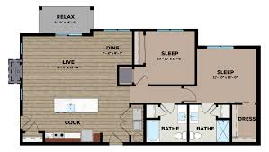 Laundromat Floor Plan 1 2 U0026 3 Bedroom Townhomes In Grafton High Bluff Townhomes