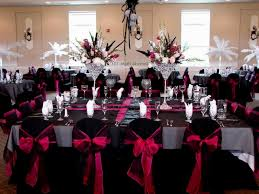Black Blue And Silver Table Settings Tiffany Blue And Black Wedding Theme Gallery Wedding Decoration