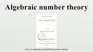 algebraic number theory youtube