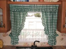 stylish and modern kitchen window curtain ideas
