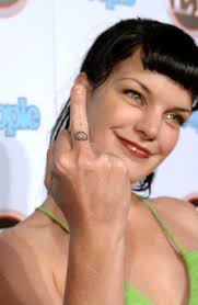 Pauley Perrette Tattoos Designs