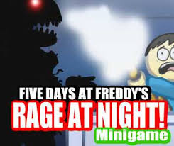 Five Nights of Love FNAF Dating Sim FLASH GAME by Chibixi on     Chibixi   DeviantArt FIVE DAY     S AT FREDDY     S Minigame  RAGE AT NIGHT  by sheenufilms