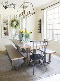 diy pottery barn inspired dining table for 100 furniture plans