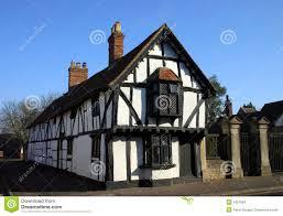 Tudor Style by Tudor Style Long House Stock Images Image 4357684