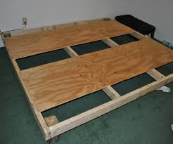 Diy Platform Bed Frame Designs by Diy Bed Frame For Less Than 30 6 Steps