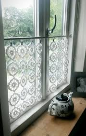 curtain best crochet curtains ideas only on pinterest cortinas for