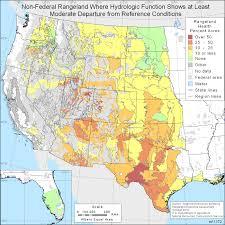 Hydrology Map Rangeland Health Nrcs