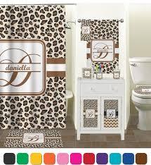 amazon com leopard print waste basket black personalized