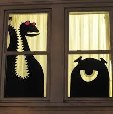 halloween monster window silhouettes bootsforcheaper com
