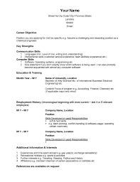 Basic Resume Templates     Hloom com happytom co resume tips for highschool students with no experience resume for       resume template