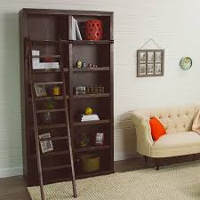 Custom Bookshelves Cost by Espresso Augustus Library Bookshelf World Market