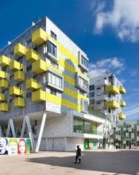Nice Modern Apartment Building Design Model Tetris Stylendesigns - Apartment building design