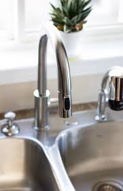 delta trinsic pullout spray touch kitchen faucet combined nickel installing a delta trinsic faucet delta kitchen faucets