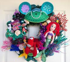 disney ariel wreath