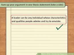 Essay English Essays On Different Topics leadership essay questions SlideShare