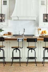 Kitchen Peninsula With Seating by How To Choose The Right Stools For Your Kitchen How To Decorate